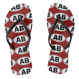 AB Atlantic Beach Florida Flip Flops