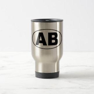 AB Atlantic Beach Florida Travel Mug