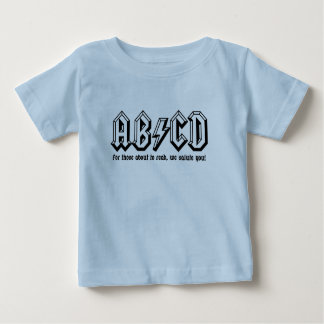 AB/CD - Get ready to READ! Baby T-Shirt