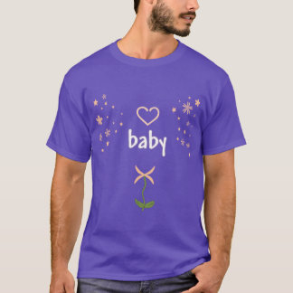 AB/DL Baby 4 Life/ Cute Tee/ Summer of Love T-Shirt