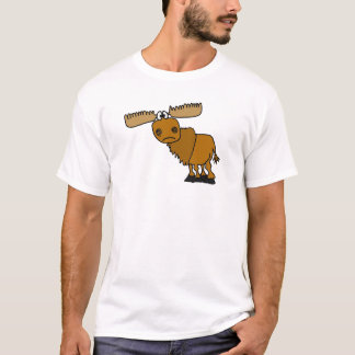 AB- Goofy Moose Design T-Shirt
