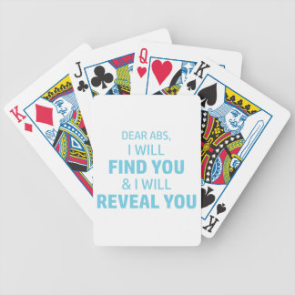 Ab Reveal Bicycle Playing Cards
