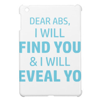 Ab Reveal iPad Mini Cover
