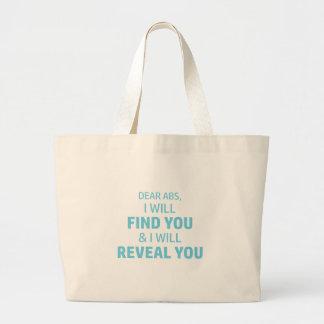 Ab Reveal Large Tote Bag