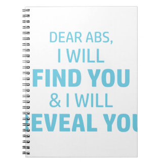 Ab Reveal Notebook