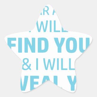 Ab Reveal Star Sticker