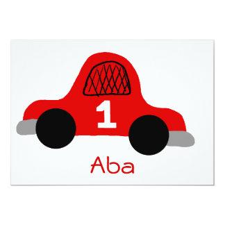 "Aba 5"" X 7"" Invitation Card"
