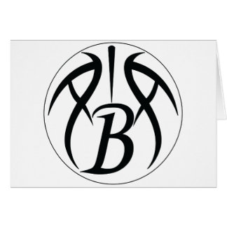 ABA Black Greeting Card