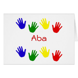 Aba Greeting Cards
