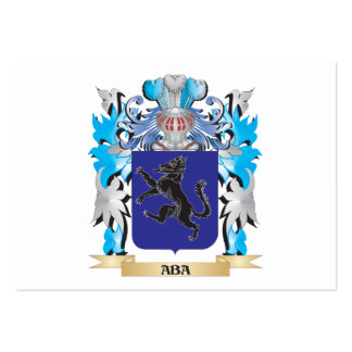 Aba Coat Of Arms Business Card Template
