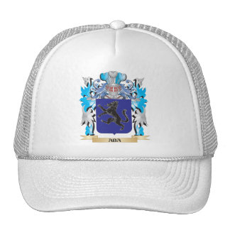 Aba Coat Of Arms Mesh Hats