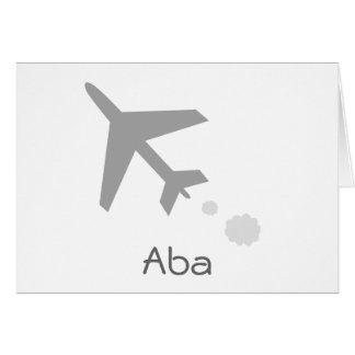 Aba Greeting Card