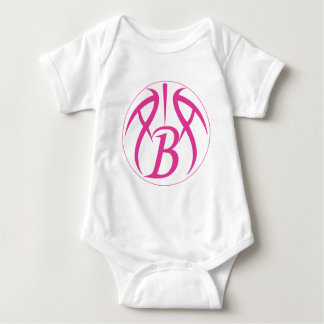 ABA Hot Pink Baby Bodysuit