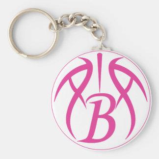 ABA Hot Pink Key Chain