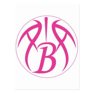ABA Hot Pink Postcard
