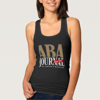 ABA Journal Black Tank (Front Only)
