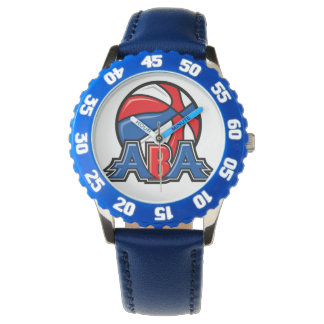 ABA Kid's Adjustable Bezel Stainless Steel Blue Watches