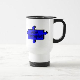 ABA Therapist (Blue P) Coffee Mugs