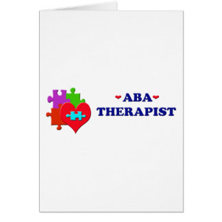 ABA Therapist Cards