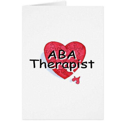 ABA Therapist Greeting Cards