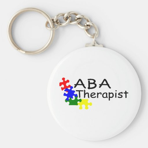 ABA Therapist Key Chain