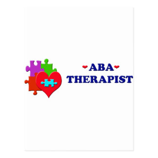 ABA Therapist Postcard