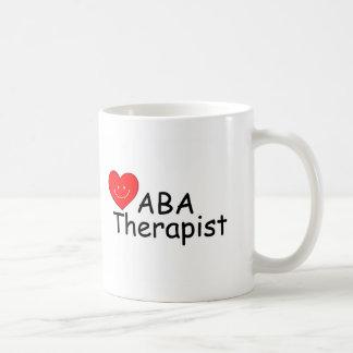 ABA Therapist (S Heart) Mugs
