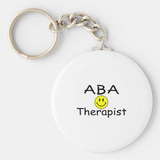 ABA Therapist (Smiley) Key Chain