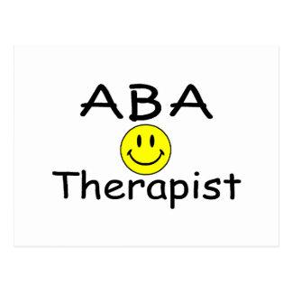 ABA Therapist (Smiley) Postcard