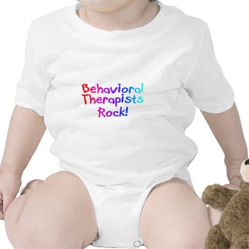 ABA Therapists Rock (Bright) T Shirt