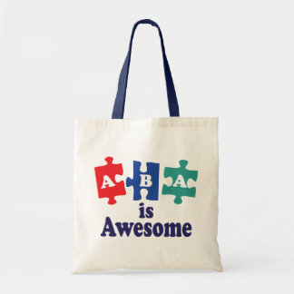 ABA Therapy Is Awesome Budget Tote Bag
