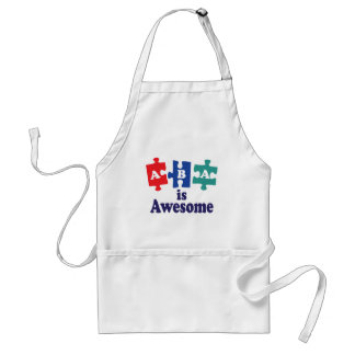 ABA Therapy Is Awesome Standard Apron