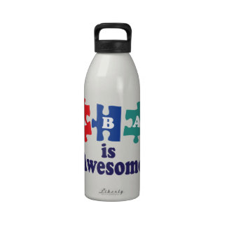 ABA Therapy Is Awesome Drinking Bottles