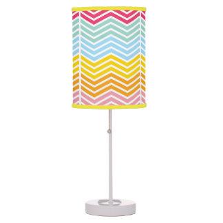 Abajur Colorful Light Table Lamp
