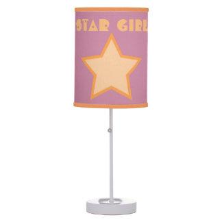 Abajur Girl Star Table Lamp