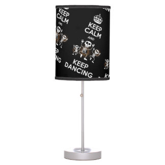 Abajur Keep Calm Table Lamp