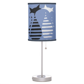 "Abajur of childish table ""Cats "" Table Lamp"