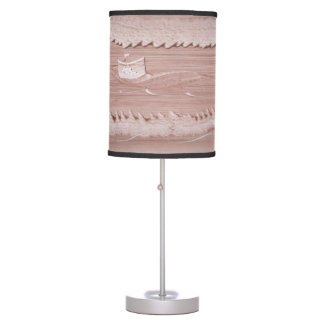 abajur of table with modern art paintings desk lamp
