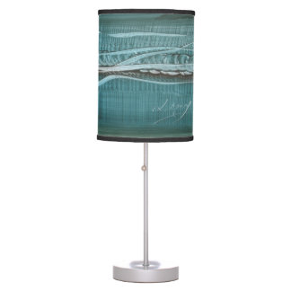 abajur of table with modern art paintings desk lamps
