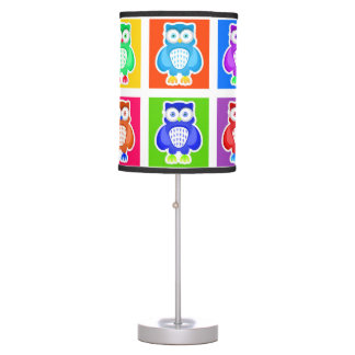 Abajur Owls Table Lamp