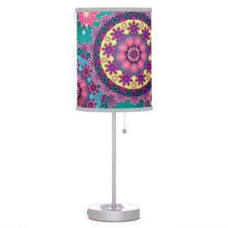 Abajur Prints Vintage Color Table Lamp