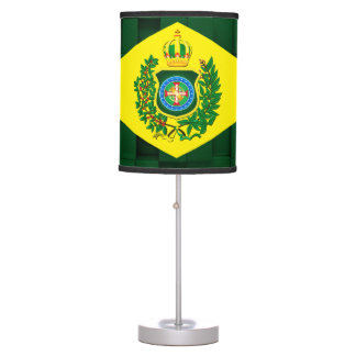 Abajur with Flag of the Brazilian Empire Table Lamp