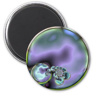 Abalone Look Abstract Magnet
