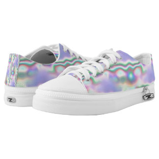 Abalone Shell Low-Top Sneakers