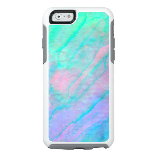 Abalone Shell Watercolor mother-of-pearl Stone OtterBox iPhone 6/6s Case