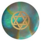 Abalone Star Serving Plate