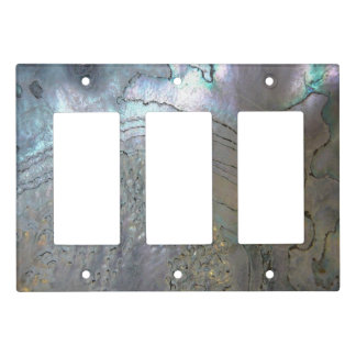 Abalone texture Light Switch Cover