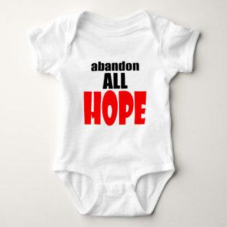 ABANDON all hope abandonallhope marine torpedo lau Baby Bodysuit