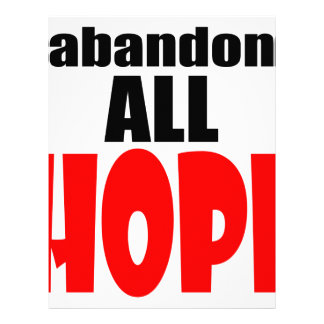 ABANDON all hope abandonallhope marine torpedo lau Letterhead Template