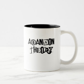 Abandon Theory Two-Tone Coffee Mug